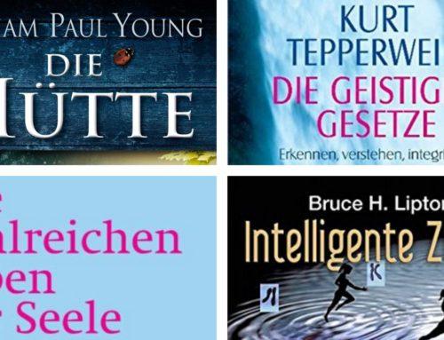 """Unsere persönlichen Top 4 """"Bücher-Geheimtipps"""""""